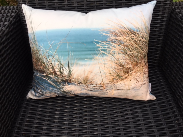 coussin photo mer oyats